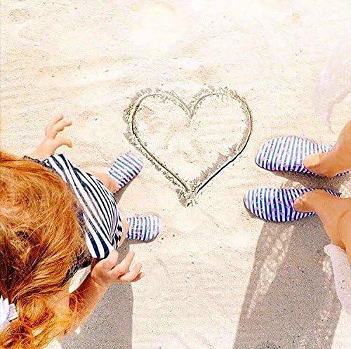 Slipstop Enfants Chaussures de Plage antid/érapantes Chaussures de Ballet Chaussures de Bain Vacances Yoga Piscine Petite sir/ène pour Filles en Violet et Rose diff/érentes Tailles
