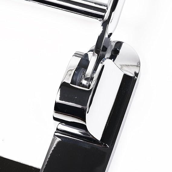Toallero Candora de acero inoxidable para montar en la pared, con estante y colgadores