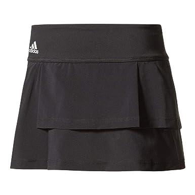 a25783e365 Amazon.com: adidas-Women`s Advantage Layered Tennis Skirt Black ...