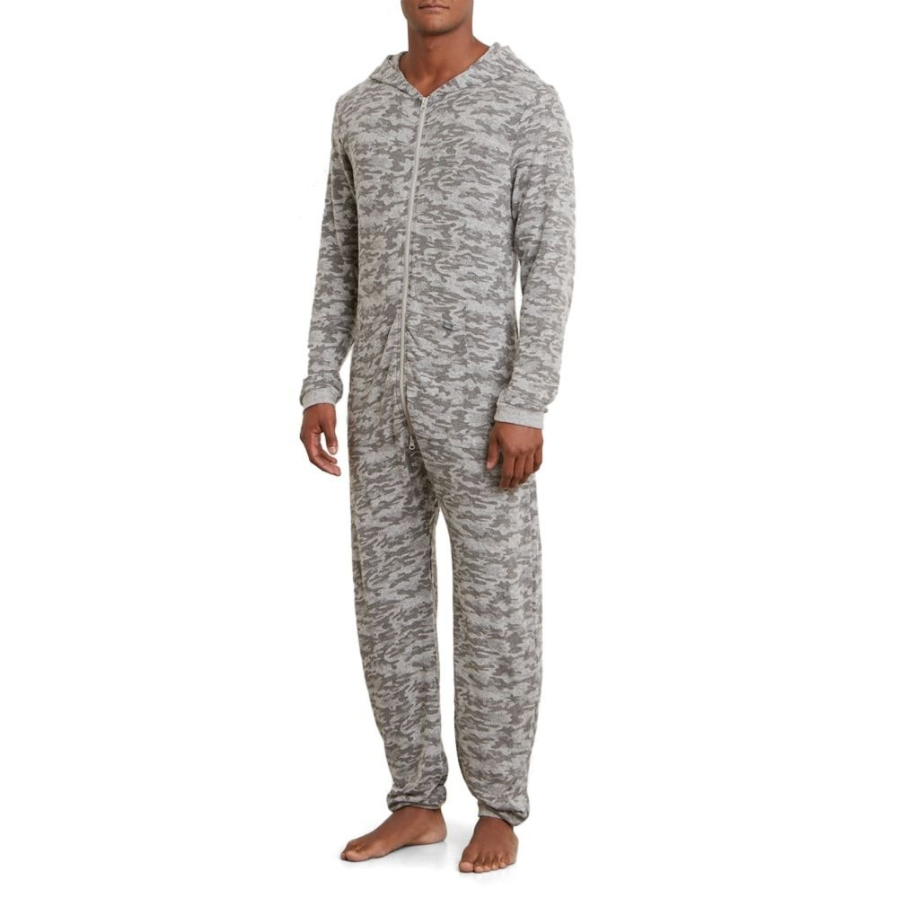 Kenneth Cole REACTION Men's Onesie, Light Grey Heather Camo, M by Kenneth Cole REACTION