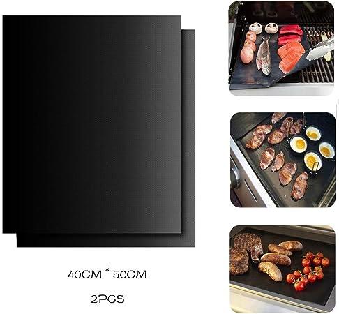 123 Life Lot de 2 tapis de cuisson antiadhésif en téflon pour four 40 x 50 cm