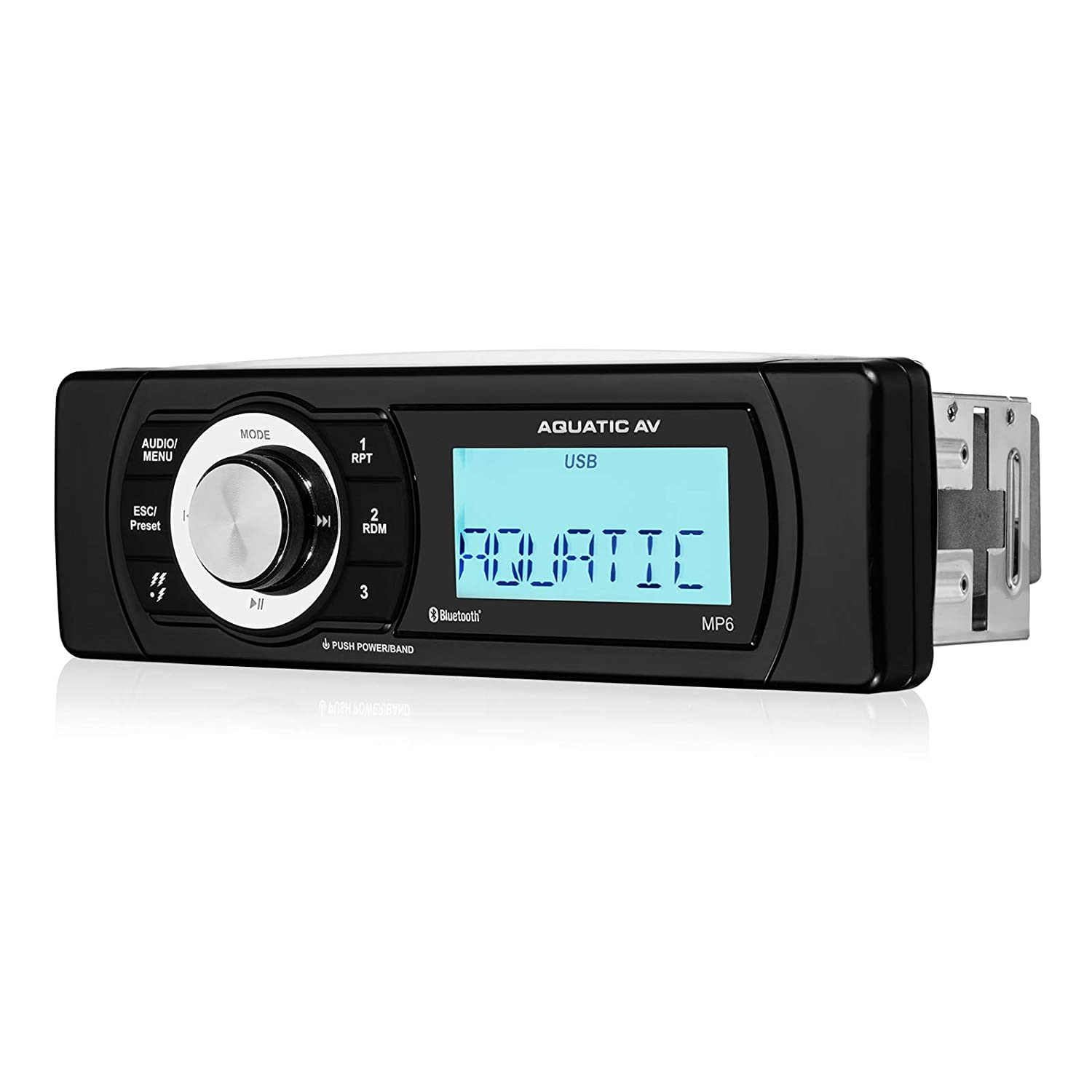 Aquatic AV MP6 Shallow Mount Waterproof Marine Stereo