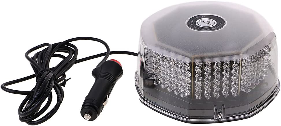gazechimp Strobo Lampeggiante Stroboscopiche Flash Emergenza 240 LED Tetto Magentico Auto Ambra