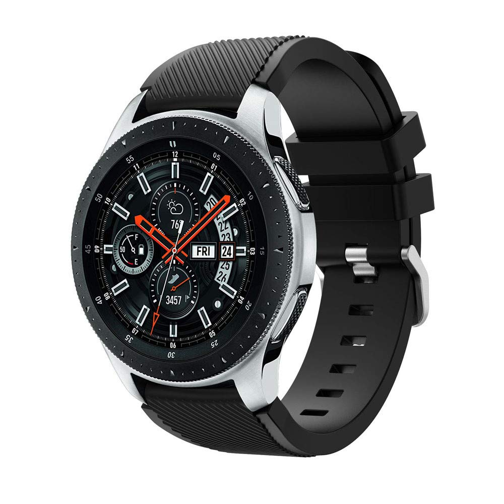 para Samsung Galaxy Watch 46mm Correa, Zolimx Silicona Suave Reemplazo Correo de Sport Banda por Pulseras de Repuesto Samsung Galaxy Watch 46mm: Amazon.es: ...