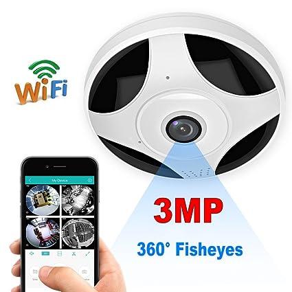 1d5b29c14e3 Amazon.com   Pomiacam HD 3MP Wireless Surveillance Security Camera ...