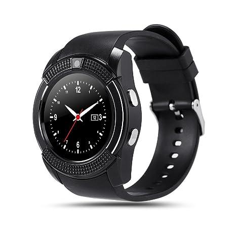Bluetooth Smart reloj v8 Full Circular Protector de Smartwatch ...