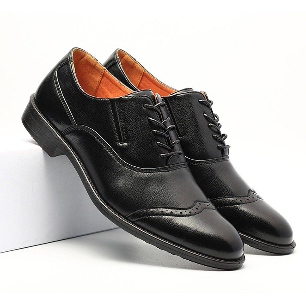Beauqueen Zapatos De Cuero Real De Los Hombres Zapatos De De Zapatos Trekking Zapatos Formales De Cuero De Negocios 38-43 (tamaño : 41) 8ddcb0