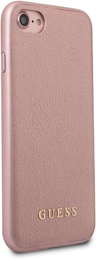 Guess Iridiscente - Estuche para Apple iPhone 8/7, Color Oro Rosa: Amazon.es: Electrónica