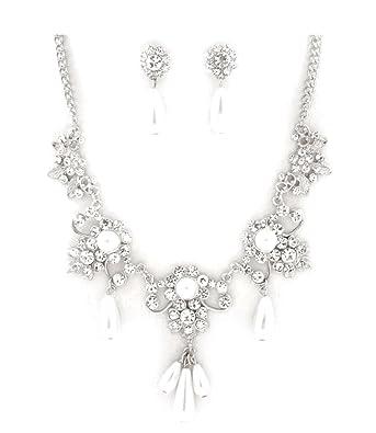 Brautschmuck Collier U Ohrringe Von Fashion Jewellery Brautschmuck
