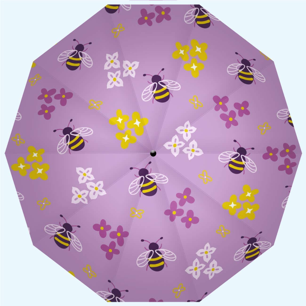 Men 42 Inches 10 Ribs Ladies Automatic Opening and Closing,Prophecy Love Joy Red Heart Shaped Tree Purple Red,Windproof Rainproof RLDSESS Love Compact Patio Umbrella