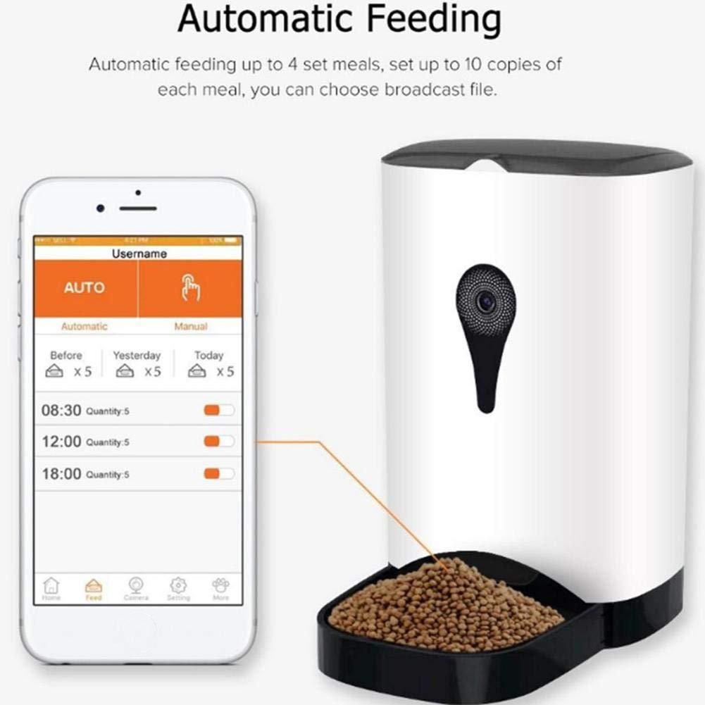 Alikena Pet Inteligente Alimentador automático WiFi APP ...