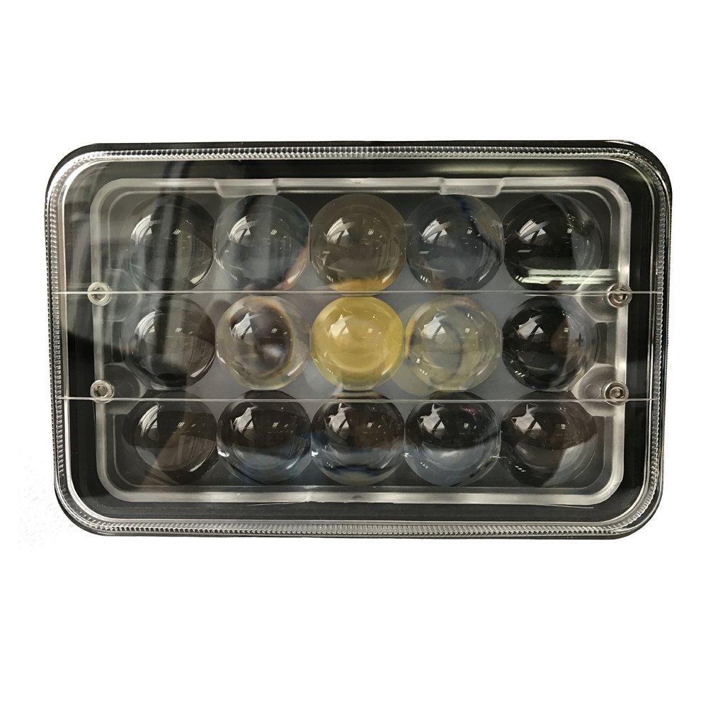 4d 4pcs 4 39 39 x6 45w led sealed beam work headlight headlamp truck kenworth t400 ebay. Black Bedroom Furniture Sets. Home Design Ideas