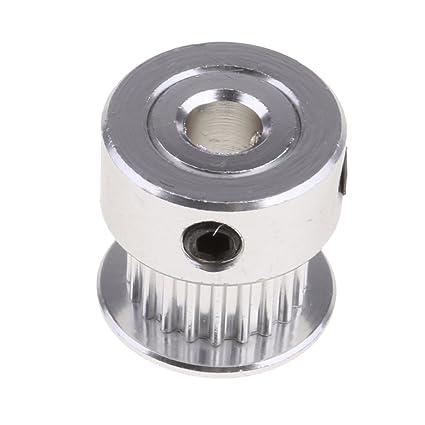 Rueda de Engranaje de Aluminio Polea 2GT 20T Para Correa ...
