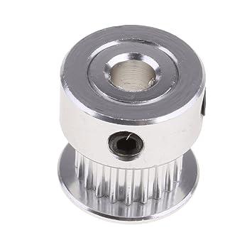 Rueda de Engranaje de Aluminio Polea 2GT 20T Para Correa Dentada ...