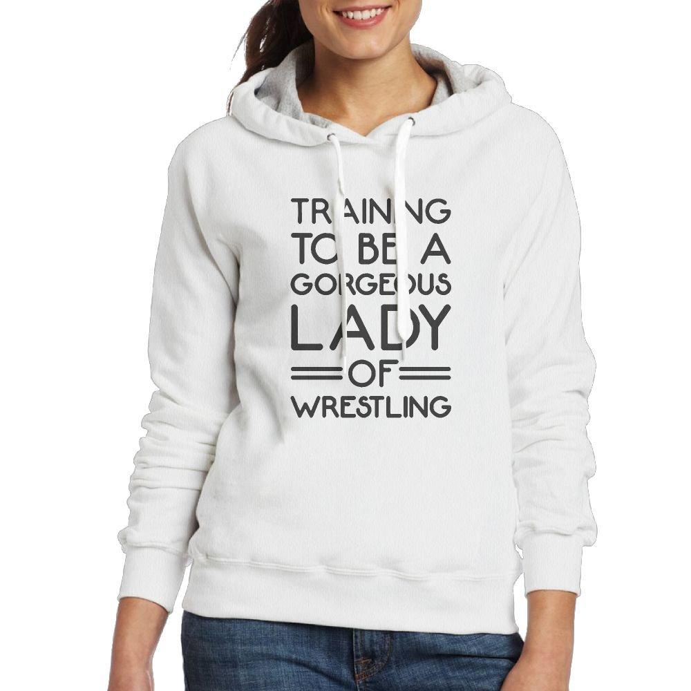 XiaoXX04 Women's Sweatshirt,Gorgeous Lady Of Wrestling Long Sleeve Hoody For Woman by XiaoXX04