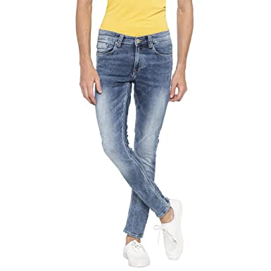 9ba309d8283eb7 Spykar Mens Super Skinny Fit Low Rise Jeans: Amazon.in: Clothing ...