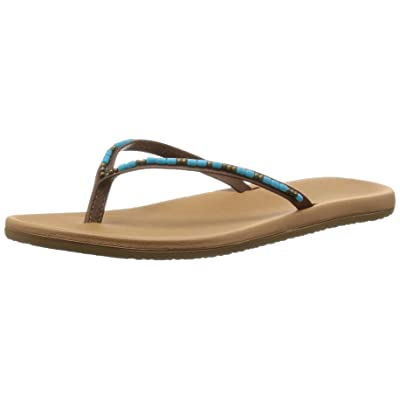 Freewaters Women's Jayde Tan/Blue 8 B US | Flats