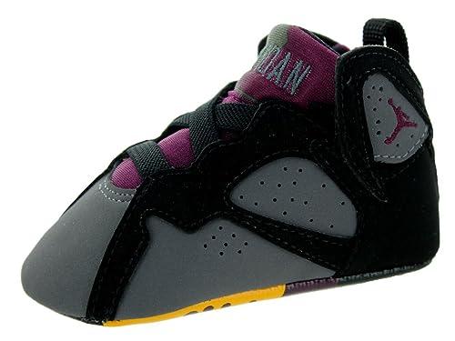 446e2a94df7 Amazon.com | Jordan Nike Toddlers 7 Retro Gift Pack Black/Brdx/Lt  Grpht/Mdnght Fg Basketball Shoe 2 Infants US | Running