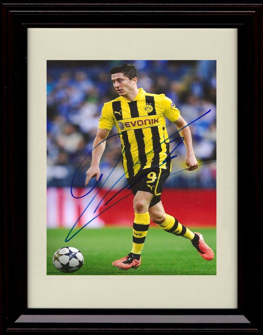 Framed Robert Robert Lewandowski – Autographレプリカ印刷 – チームポーランドWorld Cup Framed B07D8WZ1TB, アカムス:a8724824 --- hanjindnb.su