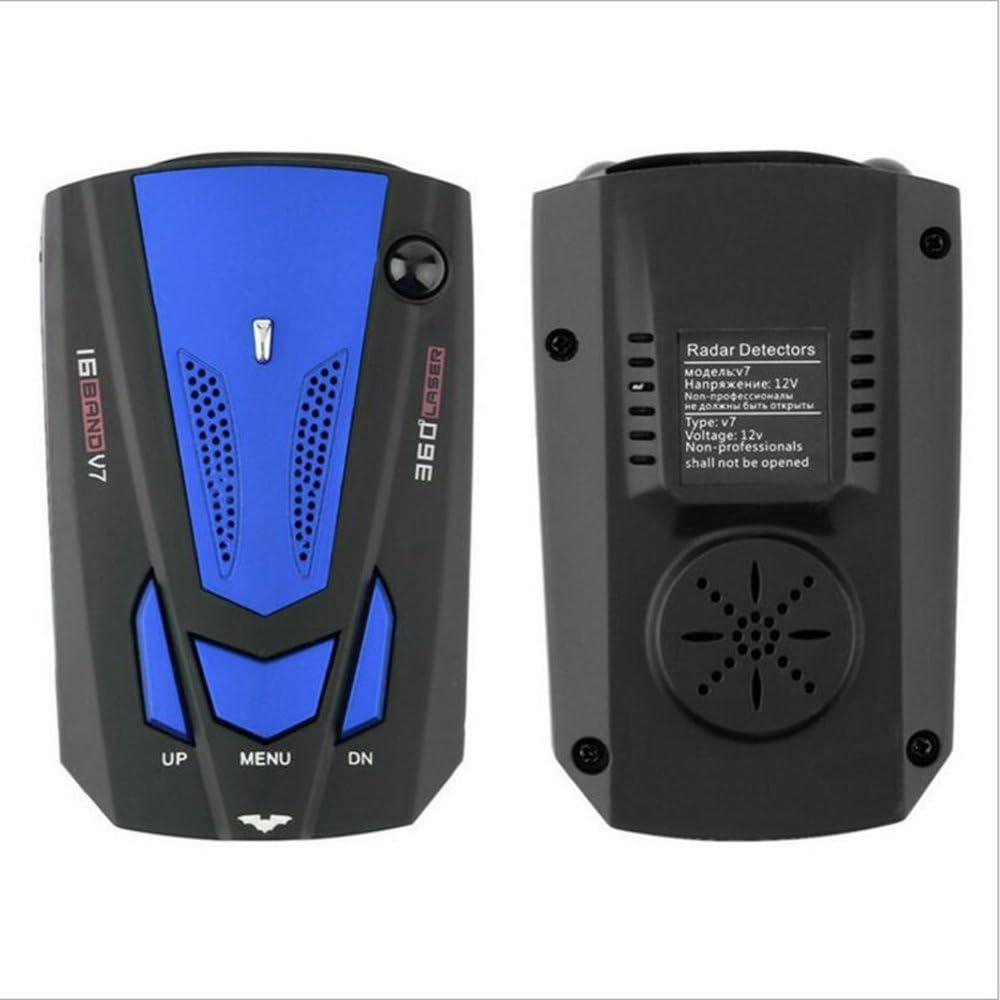 FCC Certification Voice Prompt Speed City//Highway Mode Radar Detector for Cars RICHOYBAN Radar Detector