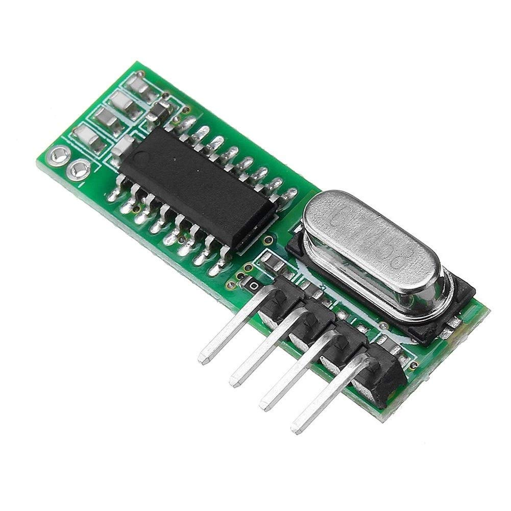 WUX698 Drahtloses Bluetooth 433 MHz Funkfernbedienungs-Sendermodul RX470 433 MHz Funkfernbedienungs-Empf/ängermodul