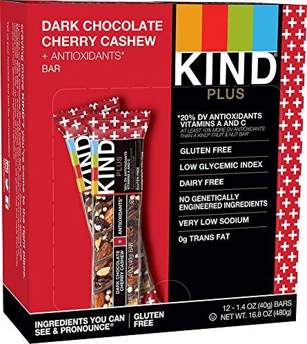 KIND Dark Chocolate Cherry Cashew Plus Bars