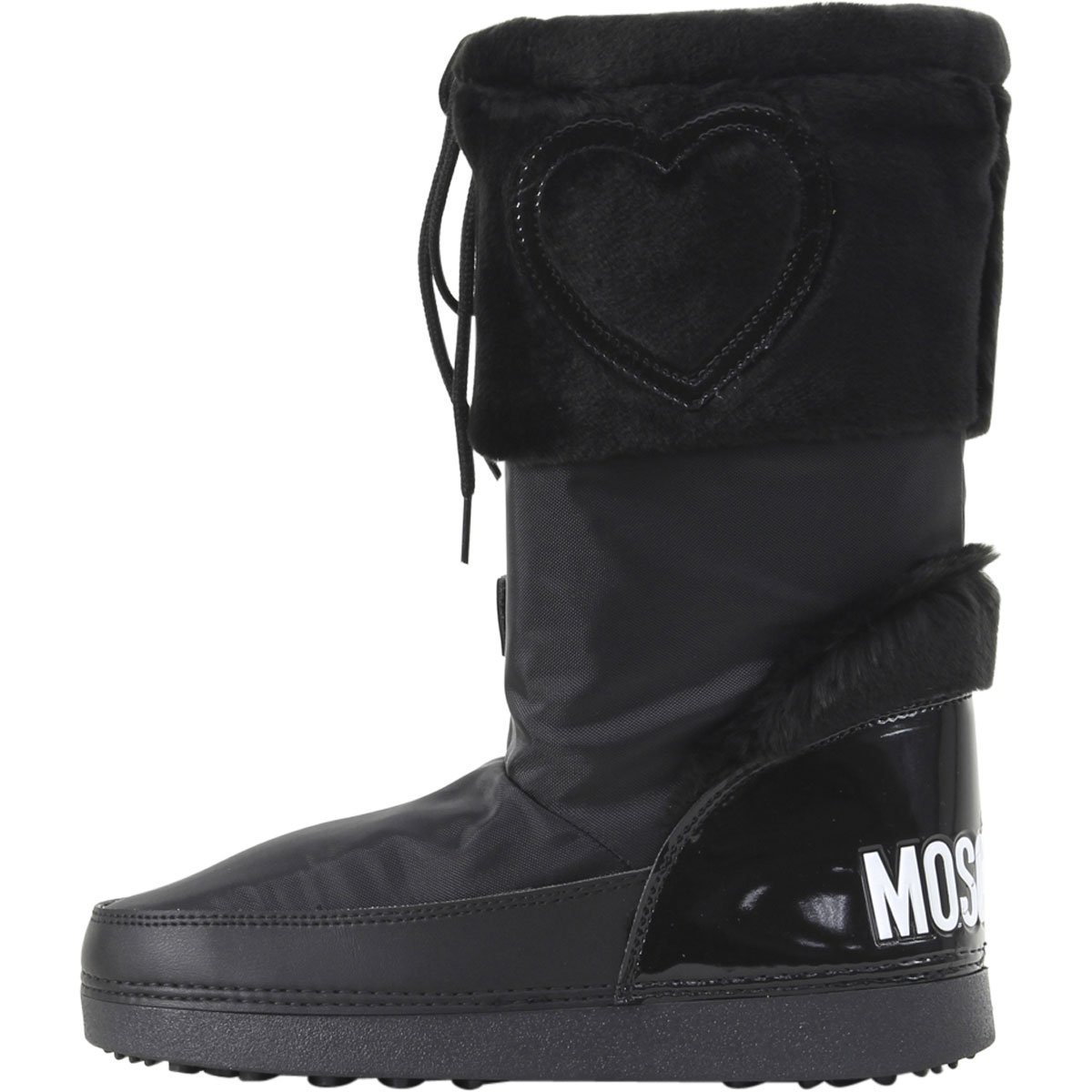 Love Moschino Women's Moon Boots Black 41 M EU by Love Moschino (Image #2)