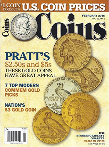Indian Gold Coins (Coins Magazine (Vol. 62, No. 2 - February 2016))