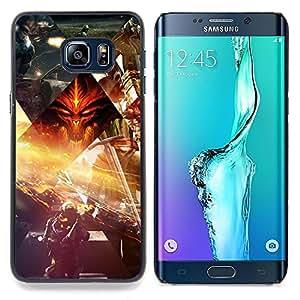 SKCASE Center / Funda Carcasa protectora - Sci Fi Scneses;;;;;;;; - Samsung Galaxy S6 Edge Plus / S6 Edge+ G928
