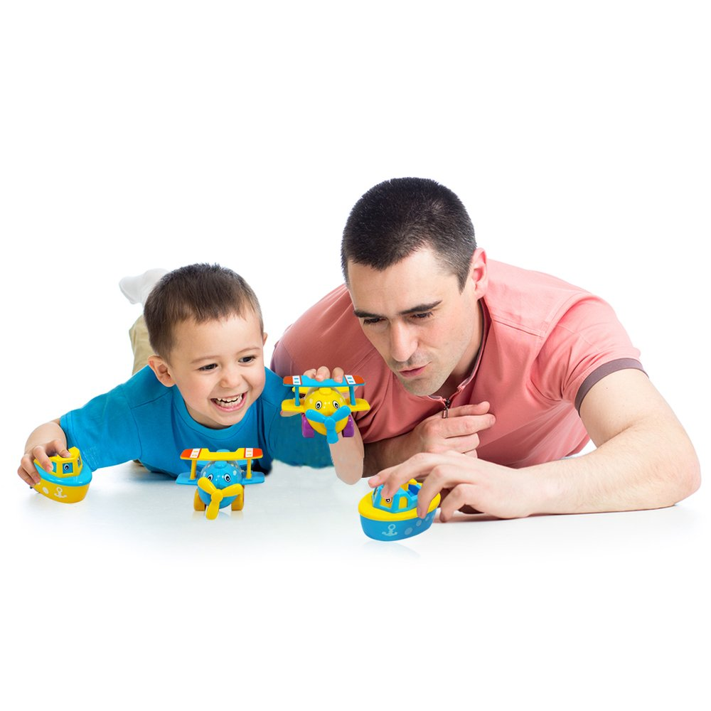 Fun Bath Toys for Boys and Girls - Boats and Planes for Toddlers and ...