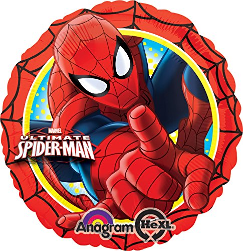 ULTIMATE SPIDERMAN ACTION FOIL BALLOON (EACH), (Spider Man Foil Balloon)