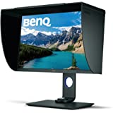 BenQ SW271 27 Inch 4K HDR Professional IPS Monitor |10-Bit with 14-Bit 3D LUT Hardware Calibration| Aqcolor for Accurate Repr