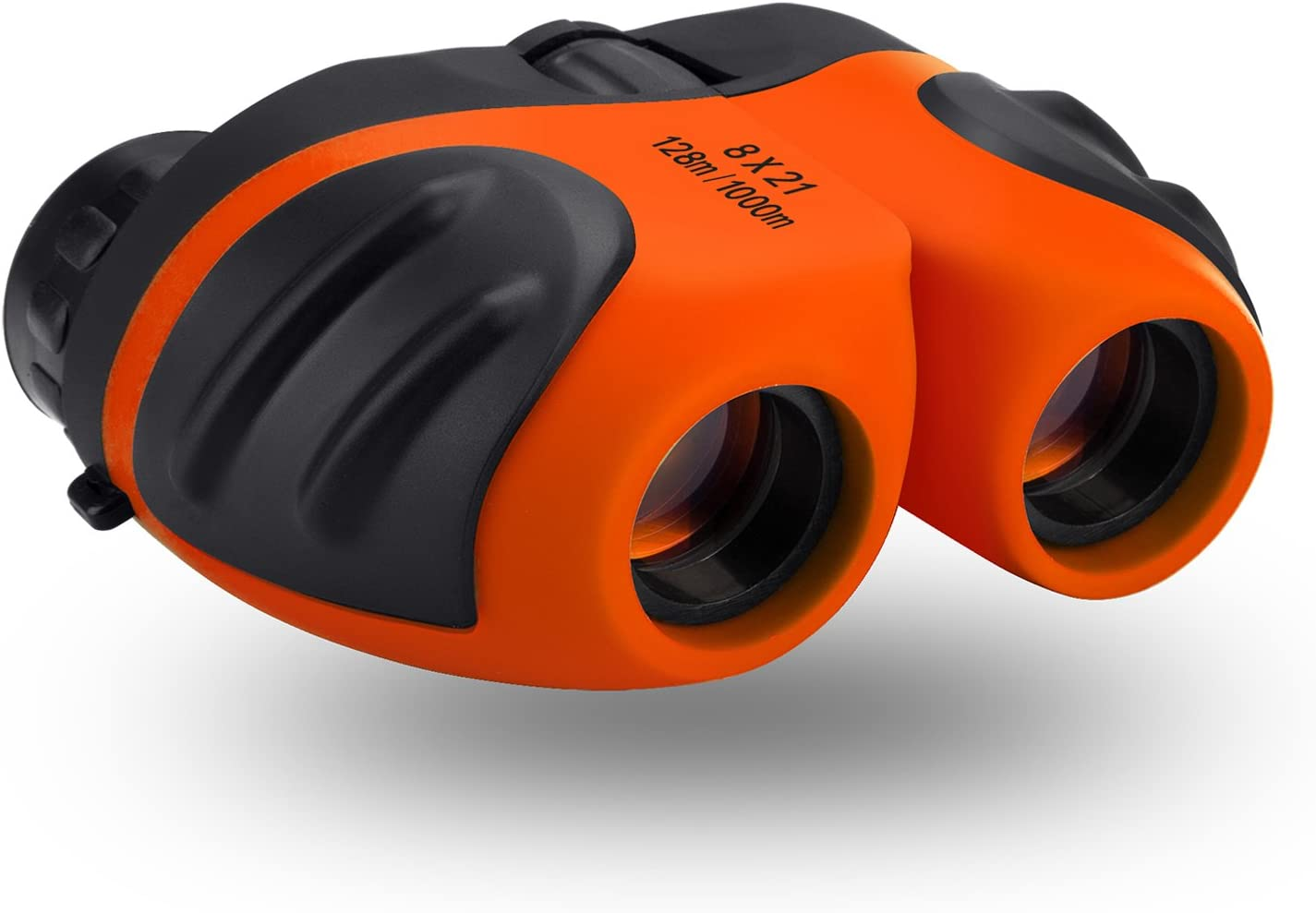 Outdoor Fun Power Toys for 3-11 Year Old Boys Safari Kids Binoculars with High for Bird Watching Travel Best Christmas Birthday Presents Gifts for 6-12 Year Old Boys Girls