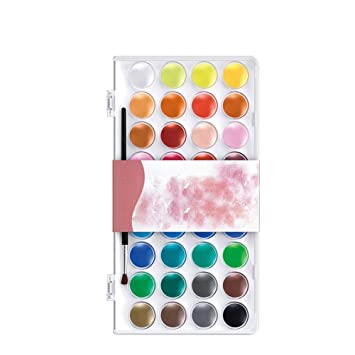 Hrph 12 16 28 36 Farben Einstellen Fest Aquarell Kuchen Im Freien