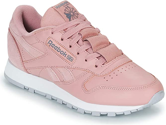 lavabo preferir clase  Reebok Classic Women's Trainers Pink Rose Pink Size: 4.5 UK: Amazon.co.uk:  Shoes & Bags