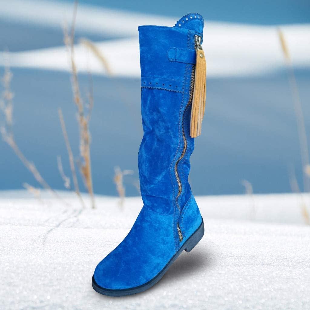 Fenverk dames hoge laarzen, 2019 winter schoenen leer warm