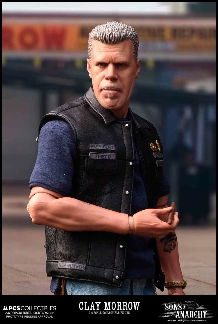 Pop Culture Shock Sons Of Anarchy Clay Morrow Figurine 718117172960