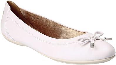 Geox Damen Ballerinas D Charlene White: : Schuhe