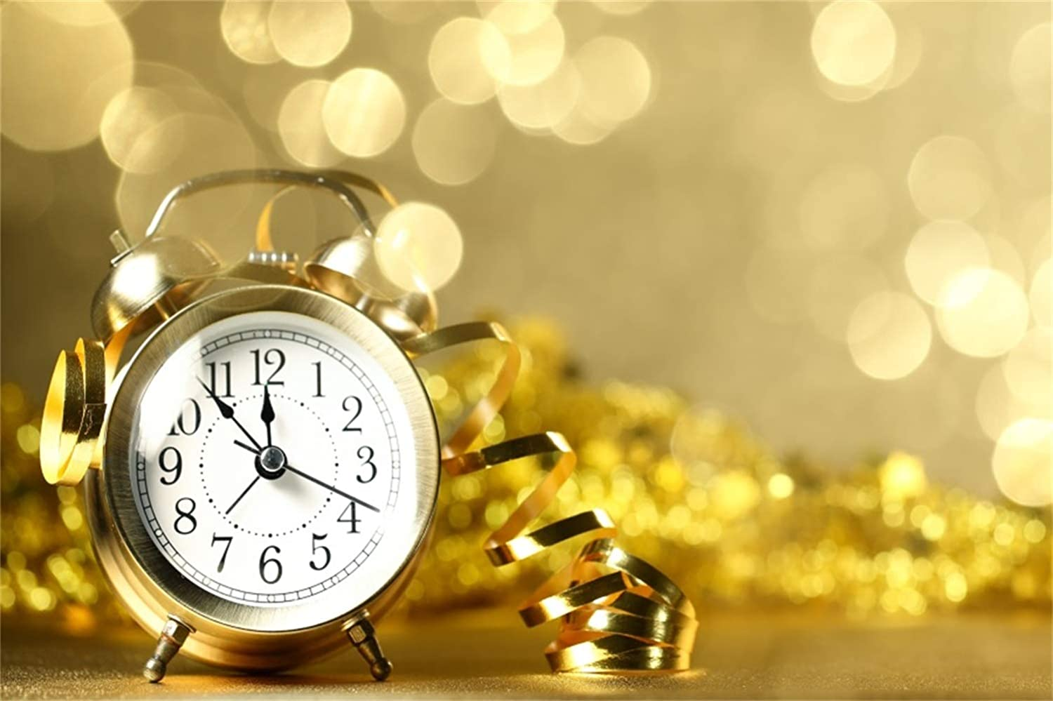 Yeele New Year Clock Photography Backdrop New Year 2020 Count Down Decoration Background Kids Newborn Adults Artistic Portrait 9x9ft Xmas New Year Events Photo Booth Photoshoot Wallpaper