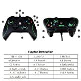 GEEDIAR USB Wired Game Controller Compatible for PC and Xbox One