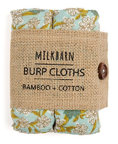 Milkbarn Bamboo Cotton burp Cloths (pack of 2)