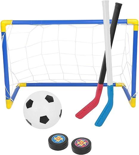 Rehomy Juego de Juguetes de fútbol para niños - 2 en 1 Red de ...