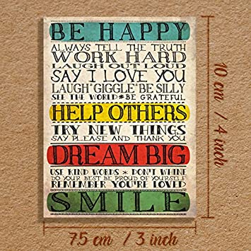 Dream Big Cute Inspirational Friendship Gift Fridge Magnet 4x3 inch