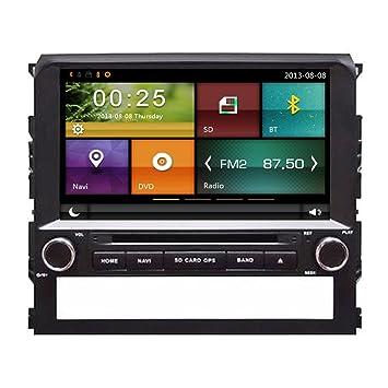 autosion coche reproductor de DVD GPS Radio estéreo unidad central para Toyota Landcruiser LC200 2016 coche navegación Audio capacitiva pantalla táctil ...