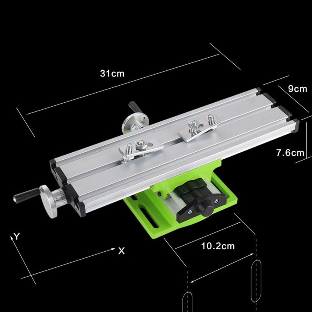 MonkeyJack Multifunction Worktable Compound Milling Working Table Bench Drill Vise by MonkeyJack (Image #10)