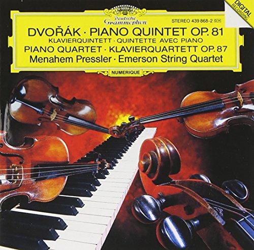 Dvorak: Piano Quintet in A Major, Op. 81; Piano Quartet in E Flat Major, Op. -