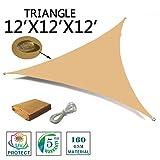 SUNNY GUARD 12' x 12' x 12' Sand Triangle