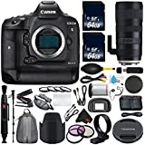 6Ave Canon EOS-1D X Mark II DSLR Camera International version (No Warranty) + Tamron SP 70-200mm f/2.8 Di VC USD G2 Lens for Canon EF + Battery Grip Wildlife and Sports Photography Bundle
