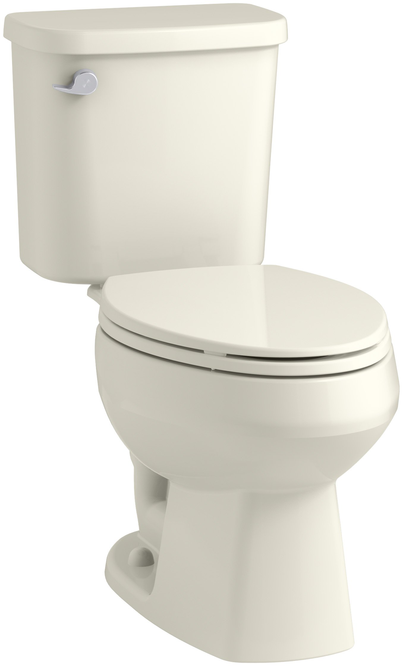 STERLING, a KOHLER Company Windham 12-Inch Rough-In Elongated Toilet with Pro Force Technology, Biscuit by STERLING, a KOHLER Company