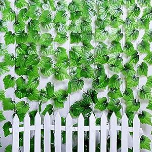 2.4M Artificial Ivy Leaf Hanging Garland Flowers Vine for DIY Home Wedding 28